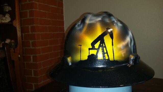 Oilfield Storm Custom Painted Hard Hat for sale online  fd4205e81db1