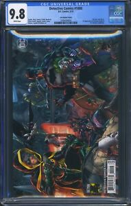 Detective-Comics-1000-DC-CGC-9-8-White-Pages-Variant-Cover-by-Jim-Lee