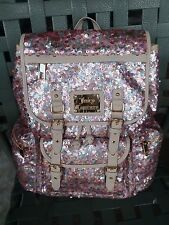 Sparkling Juicy Couture Backpack with Pink Sequins