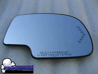 02 2002 GM CADILLAC ESCALADE OEM RIGHT PASSENGER SIDE TURN SIGNAL HEATED MIRROR