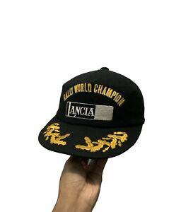 Vintage Lancia Rally World Champion Japan Embroidery Hat/Cap