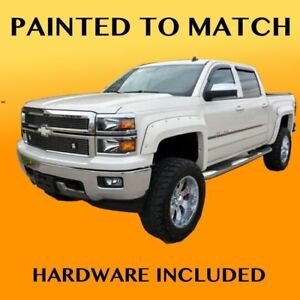 New 2015 Chevy Silverado 1500 Truck Painted Fender Flares To Match