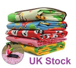 UK-Seller-Large-Waterproof-Beach-Camp-Outdoor-Picnic-Play-Travel-Mat-180-160cm