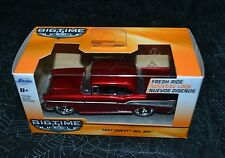 2016 BIGTIME MUSCLE 1957 CHEVY BEL AIR RED 1:32 VHTF
