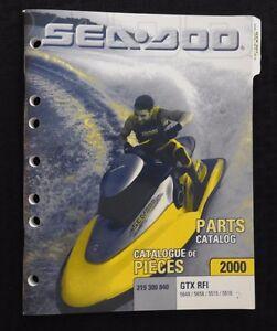 genuine 2000 sea doo gtx rfi 5648 5658 5515 5516 jet ski watercraft rh ebay ie 2000 seadoo gtx rfi parts manual 2000 seadoo gtx owners manual