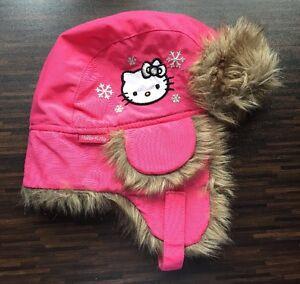 AnpassungsfäHig Hello Kitty Mütze Gr Kindermode, Schuhe & Access. Hüte & Mützen 104/116 Pink Eine Lange Historische Stellung Haben