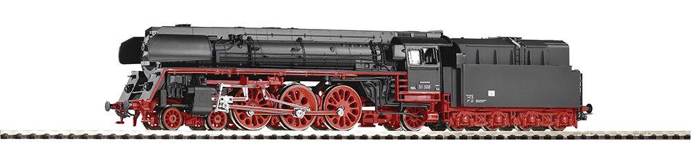 PIKO 50107 locomotiva BR 01 508 REKO, boxpokräder e ölferung delle DR in Ep. III