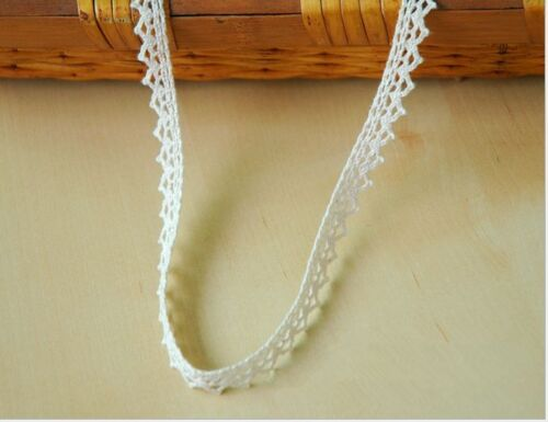 10 Yards Wedding dress clothing accesories Embroidered Lace Trim Crochet Craft