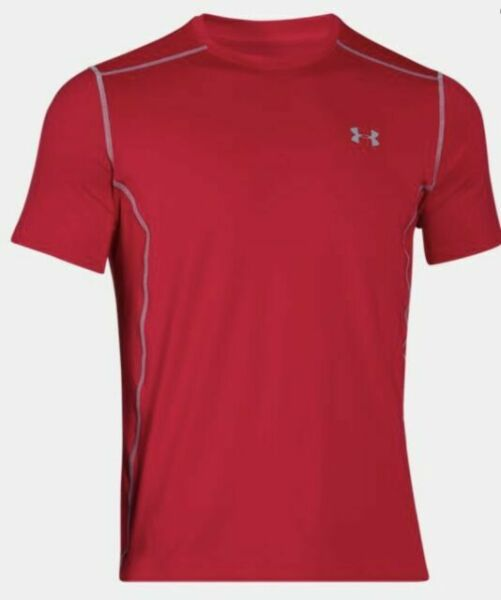 NWT Mens Under Armour Raid Shirt Size Small Black Gray 1257466 MSRP $30