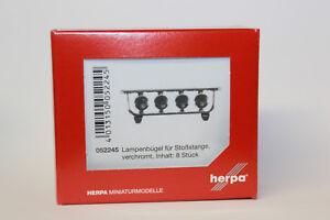 Herpa-052245-Lampenbuegel-fuer-Stossstange-verchromt-1-87-H0-NEU-in-OVP