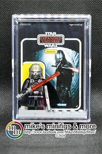 cartão personalizado minifigura Starkiller Universo Expandido Force Unleashed Star Wars