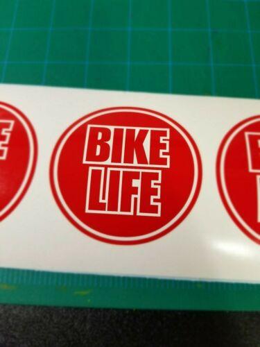 Vélo de vie cercle Autocollant Vinyle Mountain bike Downhill BMX Road Cyclocross Specialized Trek SRAM