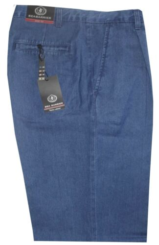 Pantalon Jeans à Partir Du 46 Une 62 Coupure Classique Plis Toile Lumière Été