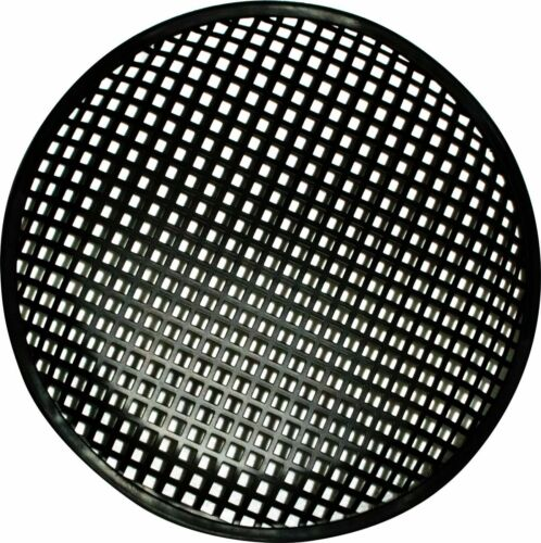 """10 INCH SUBWOOFER SPEAKER COVERS WAFFLE MESH GRILL GRILLE PROTECT GUARD CLIP 10/"""""""