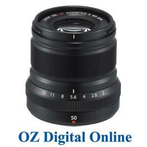 NEW-Fujifilm-FUJINON-XF-50mm-F2-R-WR-Black-Lens-1-Year-Aust-Wty