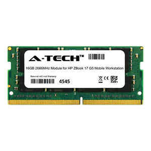 Details about A-Tech 16GB 2666MHz DDR4 RAM for HP ZBook 17 G5 Mobile  Workstation Laptop Memory
