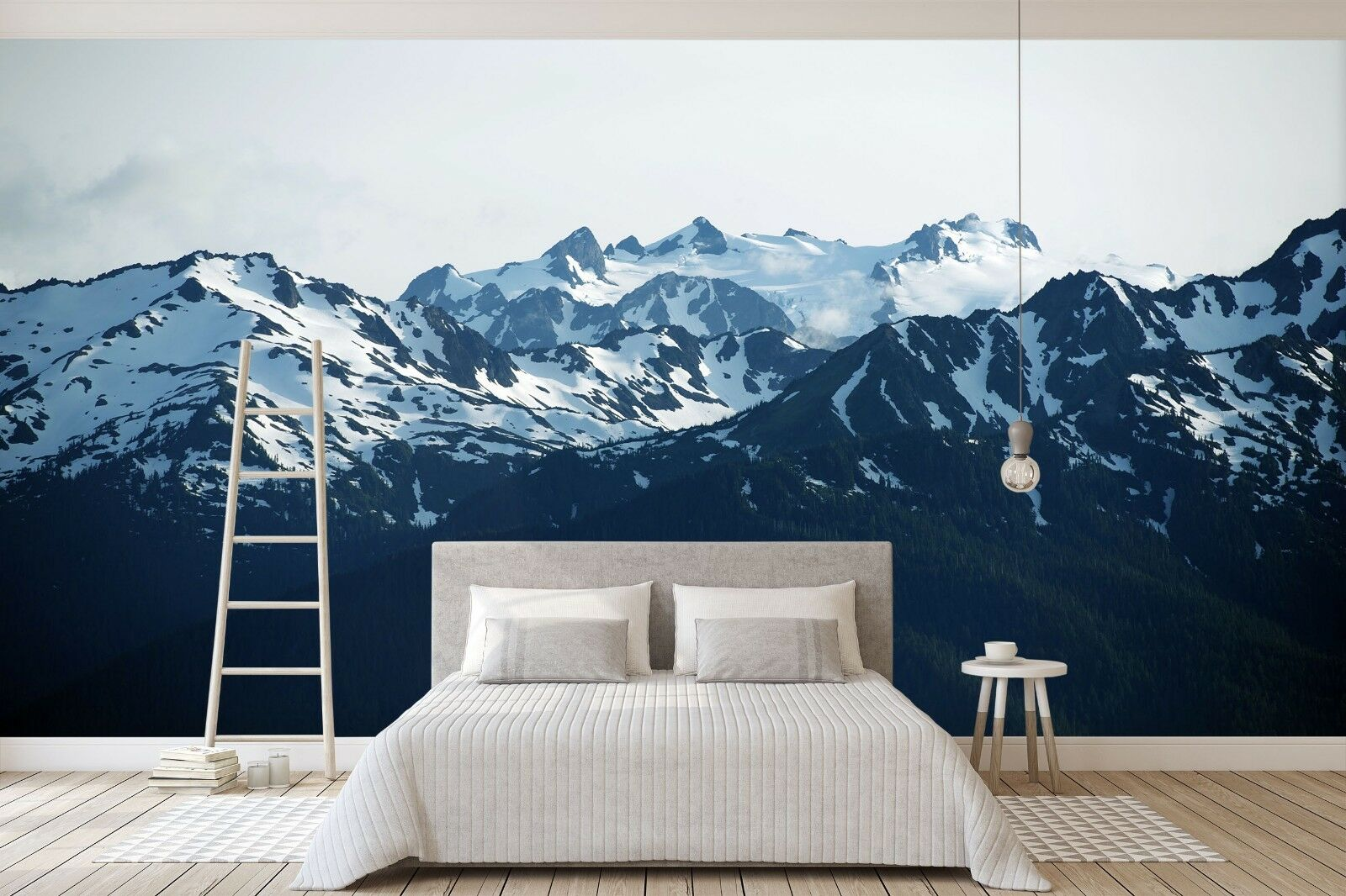 3D Sky Snow Mountains 422 Wall Paper Wall Print Decal Deco Indoor Wall Mural CA