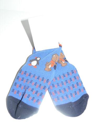 19-23 Sterntaler Gr Fliesenflitzer Rutschsocken Socken blau Bär+Pinguin