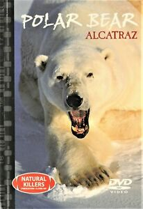 Natural-Killers-Predators-Close-Up-POLAR-BEAR-Alcatraz-DVD-Book-BRAND-NEW-R0