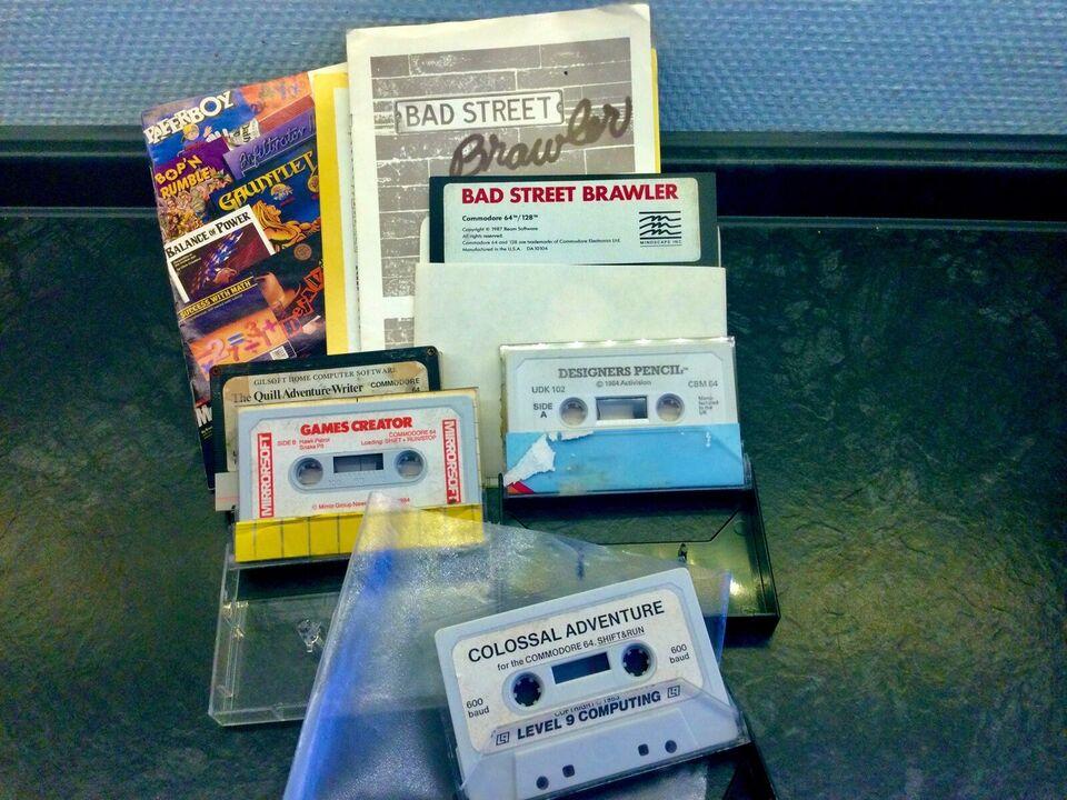 Commodore 64 , Amiga- & Sega, Commodore 64