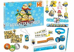 Minions-Minion-Keychain-Advent-calendar-mini-figure-stationery-comes-out-paralle