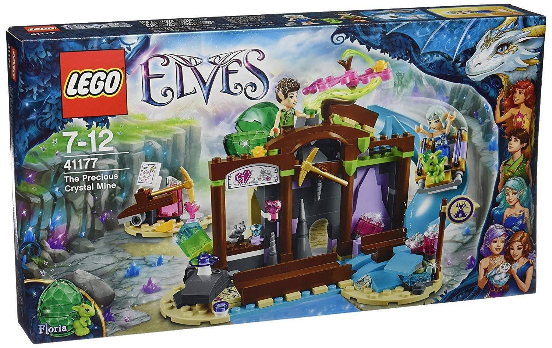 Lego Elfos de la mina de cristal precioso 41177 Conjunto de Construcción