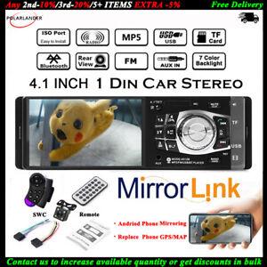 4-1-039-039-Single-1-Din-Coche-MP5-Player-In-Dash-MP3-Audio-Radio-Estereo-FM-Bluetooth