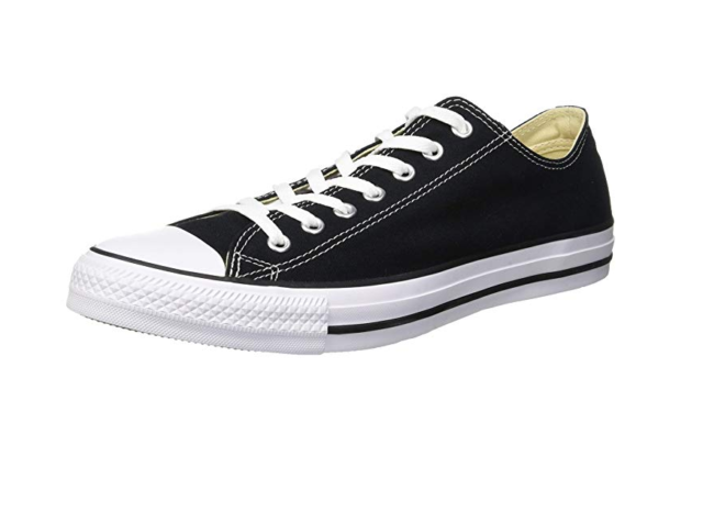 12c6036e7a080c Converse Chuck Taylor All Star Ox Low Top SNEAKERS M9166 Black 7 M ...