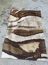 EGE RYA SHAG RUG MID-CENTURY DANISH MODERN WOOL ABSTRACT Biomorphic 4x6 Panton