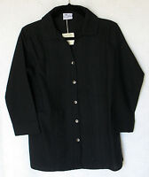 Tibetan Trader 100% Cotton 3/4 Sleeve Button Front Blouse Size L