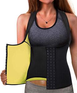 Best-Neoprene-Waist-Trainer-Corset-Sweat-Vest-Weight-Loss-Body-Shaper-Workout-US