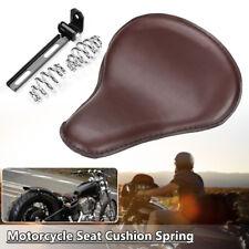 Motorcycle Contoured Spring Seat Cushion Bracket For Harley Honda Bobber Custom