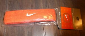 Nike-mens-womens-headband-new-orange-sweatband-band