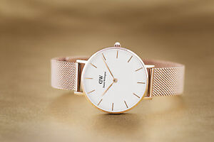 b44b51e50596 Image is loading DANIEL-WELLINGTON-CLASSIC-PETITE-MELROSE-WHITE-DIAL-32MM-