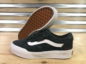 45e17b78 Vans Chima Pro 2 Skateboard Shoes Ebony Port Royale Youth SZ ...