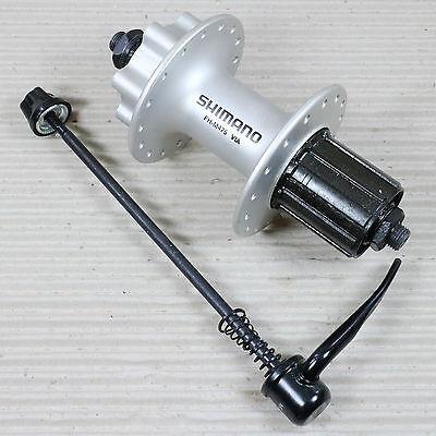 HR-Scheibenbremsnabe Shimano FH-M 475 135mm,36 Loch,silber,8//9-f.,6-Loch-Aufn.