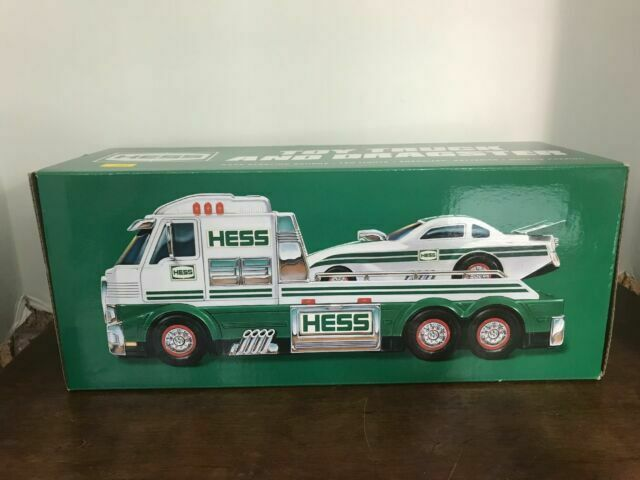 2016 Hess Truck TOY TRUCK AND DRAGSTER in Free SHIPPING