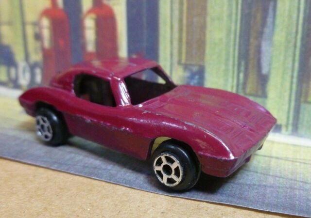 63 Split Window Corvette >> Vintage Early Tootsietoy Tootsie Toy 63 Split Window Corvette