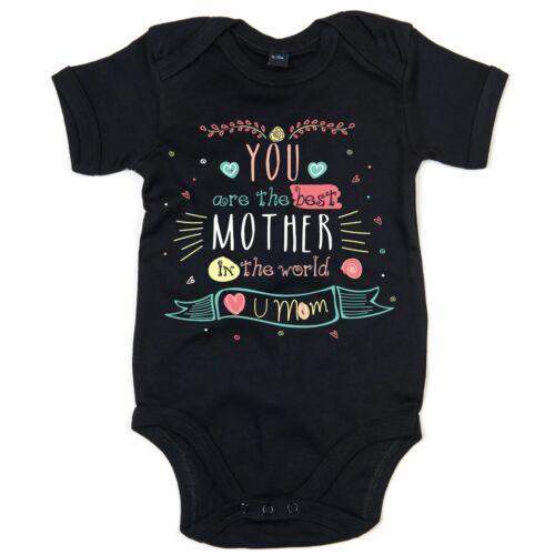 Mothers Day Babygrow Gift Idea For Mummy Mum Mam Cute Babi Baby Child Mother