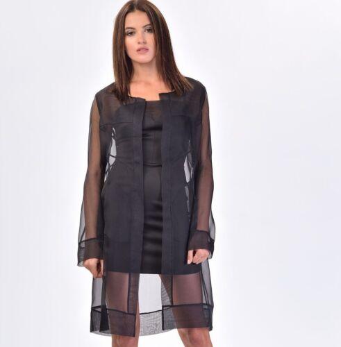 Long Siste's 305 M Bnwt 12 Italia Størrelser Shirt 8 S Blouse 100 Women 10 Top Silke rY1wqdw5