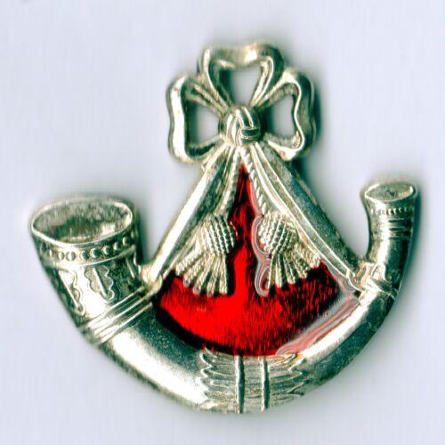 Enamel Lapel Badge Light Infantry