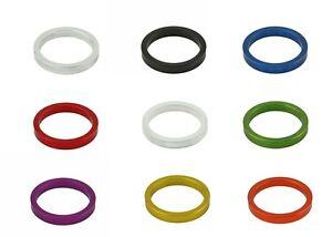 "28.6mm ThreadIess Headset spacer 5mm CycIing AII Colors BicycIe AIIoy 1-1//8/"""