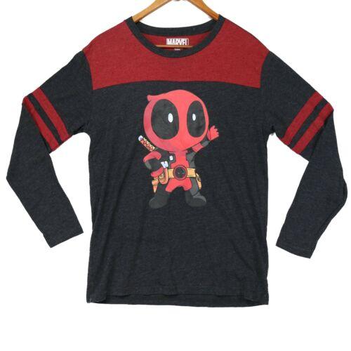Deadpool Toon Official Marvel Long Sleeve Shirt -