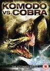 Komodo VS Cobra 5706152320380 With Michael Paré DVD Region 2