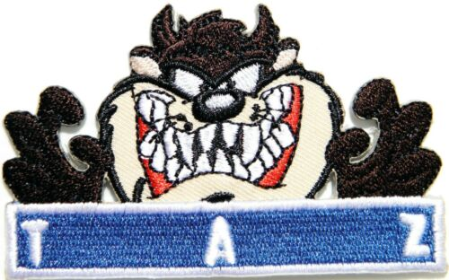 TAZ Cartoon Patch Iron on Sew Embroidered Applique T shirt Badge Craft Cloth