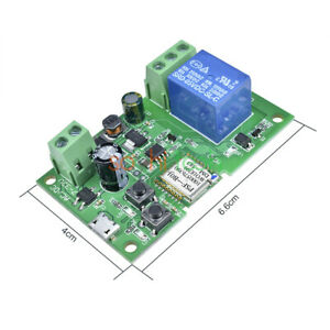 5V-12V-Self-locking-Sonoff-WiFi-Wireless-Smart-Switch-Relay-Module-APP-Control