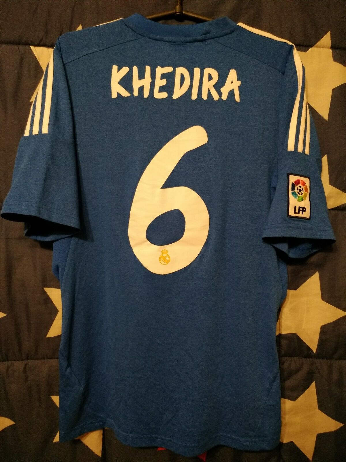 Größe M Real Madrid Spain 2013-2014 Away Football Shirt Jersey Khedira  6