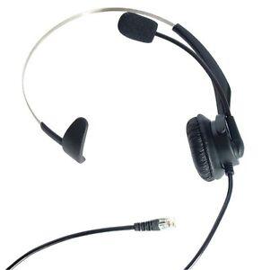 New T400 Headsets Headphone For ShoreTel 100 212 230 265 530 560 565 Black