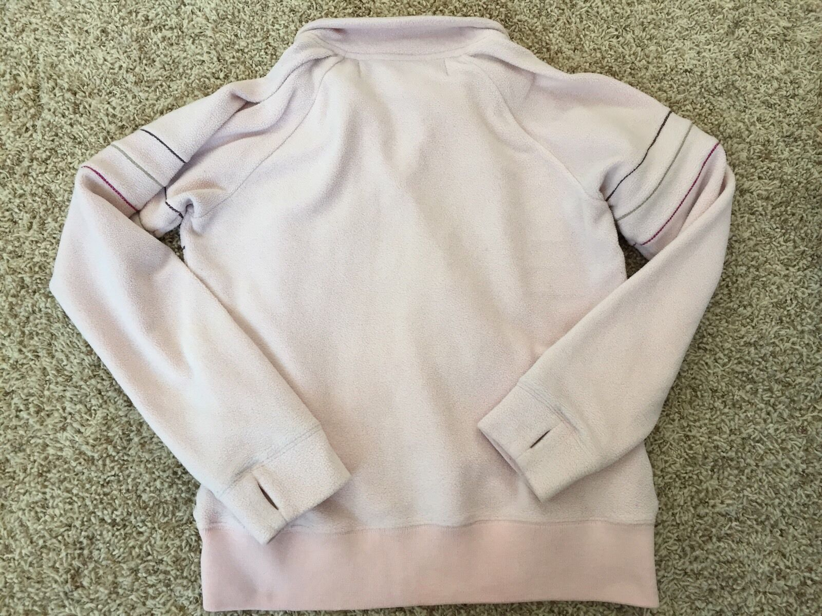 Burton Burton Burton Snowboard Womens Small Fleece Pink Logo Winter Half Zip Thumbholes Warm 1f6e1b