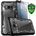 For Galaxy S8 / S8 Plus Case Cover Drop Tested w/ Tempered Glass Heavy Duty